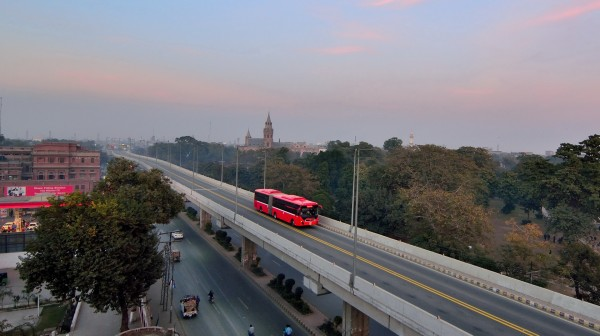METRO BUS LAHORE (PACKAGE-4)