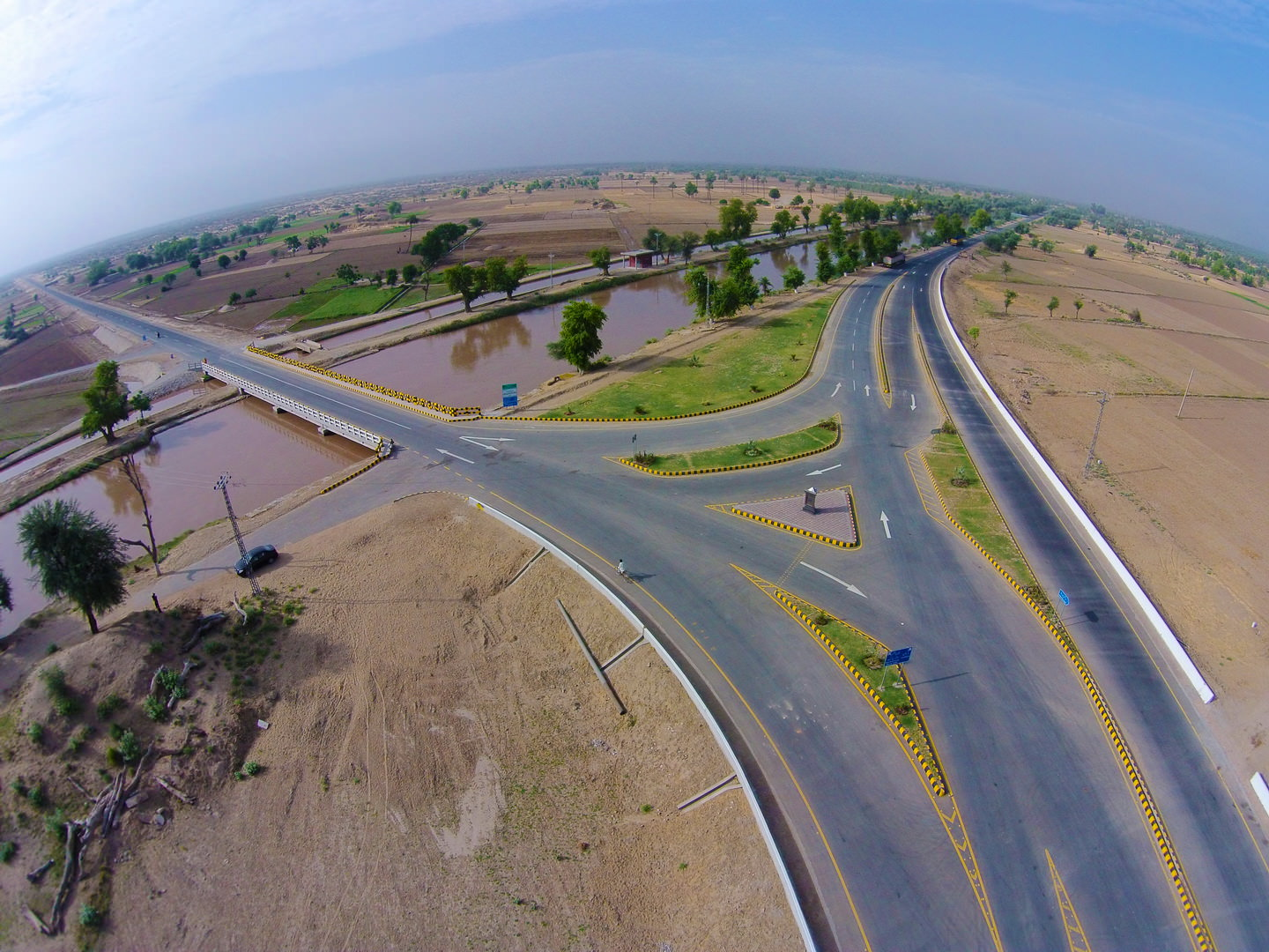 ACCESS ROAD TO QUAIDEAZAM SOLAR