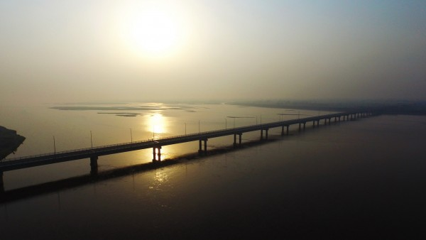 BRIDGE OVER CHENAB AT BHOWANA