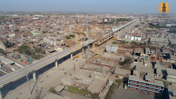 LAHORE ORANGE LINE METRO TRAIN PROJECT - PACKAGE-1 CIVIL & ALLIED WORKS FROM DERA GUJJRAN TO CHAUBURJI 13.6 KM