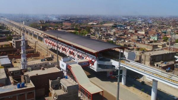 LAHORE ORANGE LINE METRO TRAIN PROJECT - PACKAGE-1 CIVIL & ALLIED WORKS FROM DERA GUJJRAN TO CHAUBURJI 13.6 KM