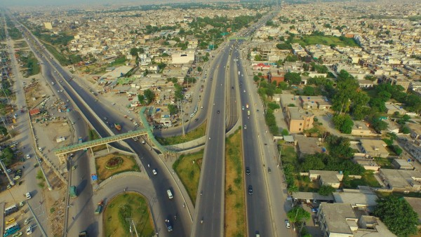 FLYOVER AND UNDERPASS AT PIR WADHAI RAWALPINDI