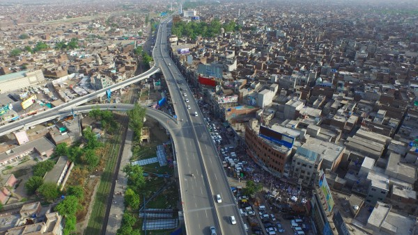 FLYOVER ON GT ROAD GUJRANWALA