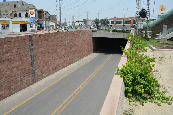 UNDERPASS AT MODEL TOWN MORR LAHORE